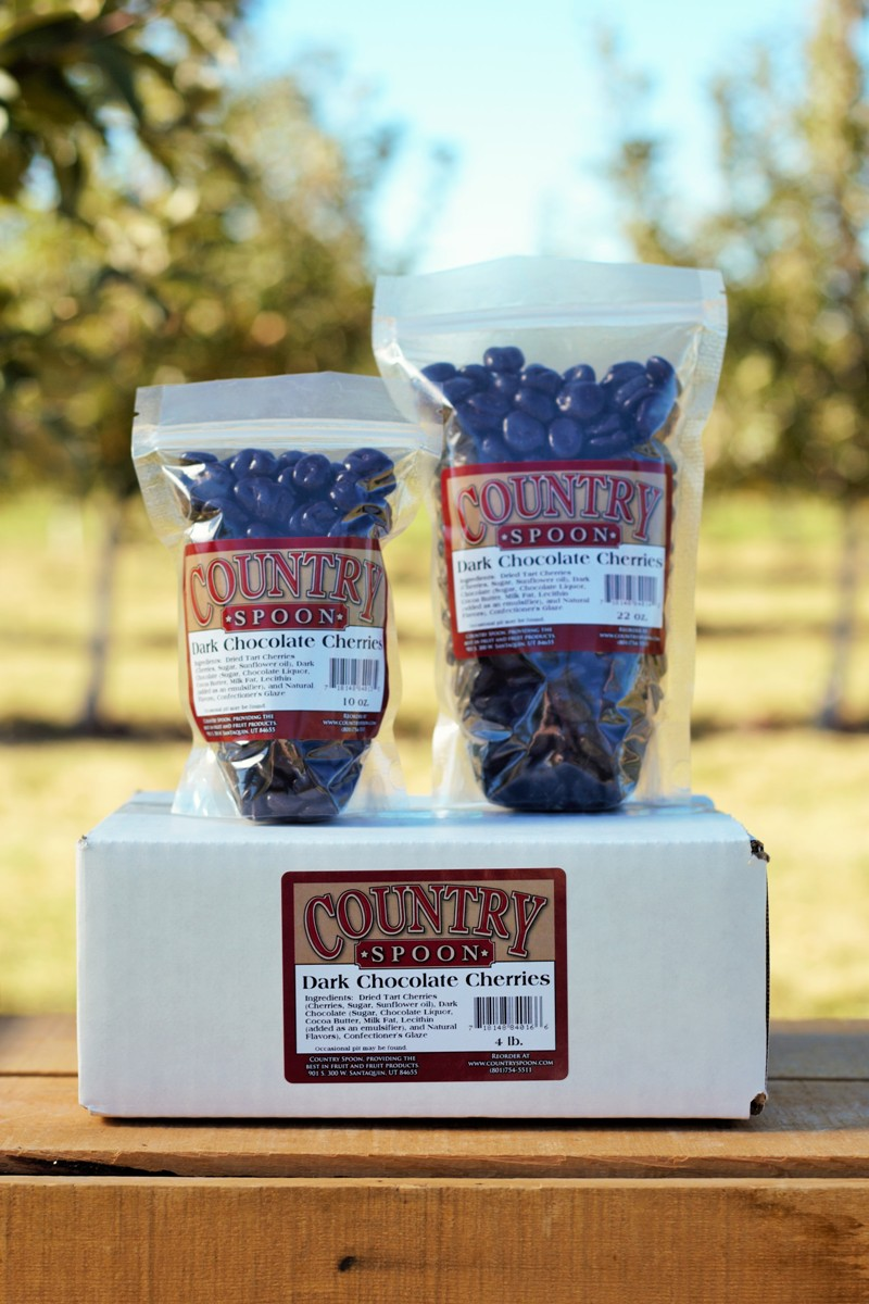 Country Spoon Dark Chocolate Cherries