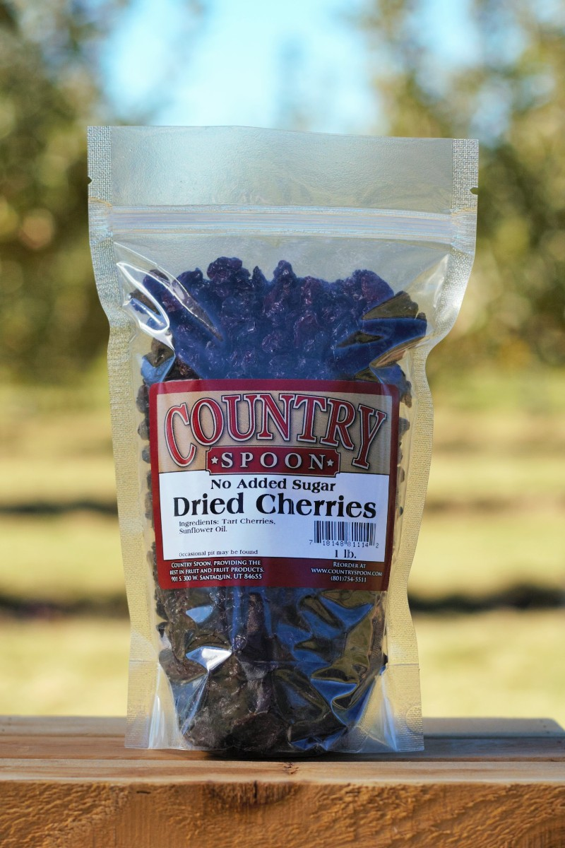 No sugar added dried cherries