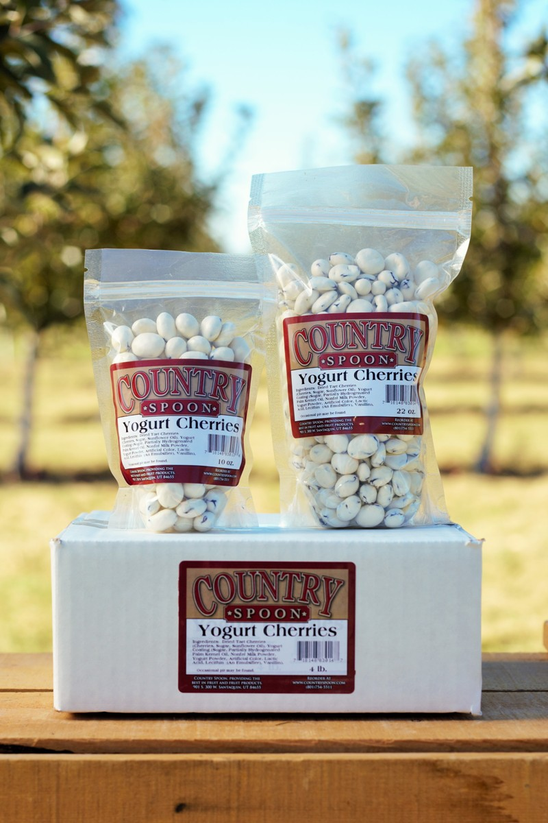 Country Spoon Yogurt covered Cherries
