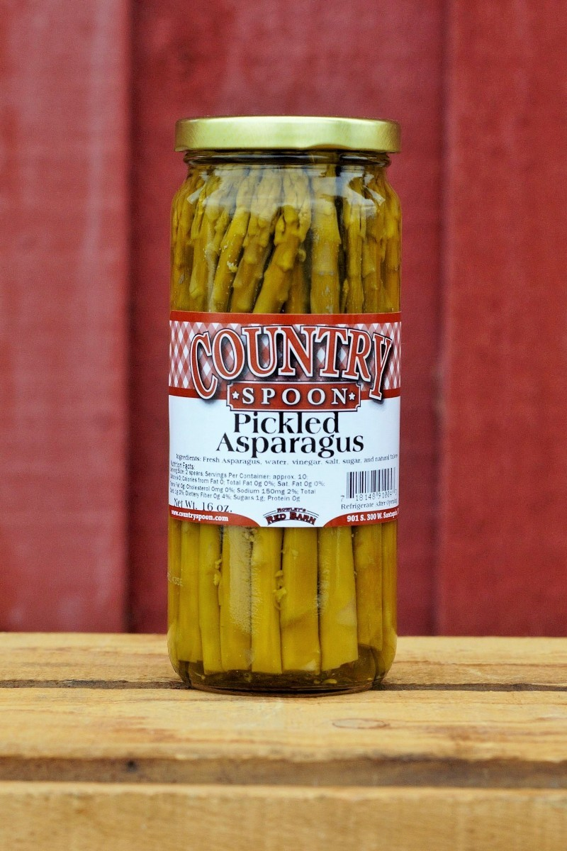 Country Spoon pickled asparagus